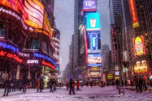 Times-Square-Snowstorm