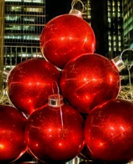 Rockefeller Center At Christmastime