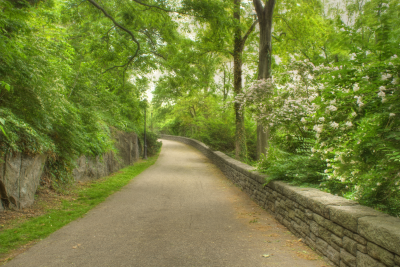 Path in Fort Tryon Park